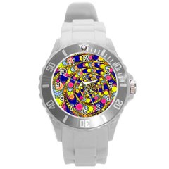 Wild Bubbles 1966 Plastic Sport Watch (large) by ImpressiveMoments