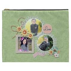 Cosmetic Bag (xxxl): Sweet Memories 5 By Jennyl   Cosmetic Bag (xxxl)   Cyq5s1d15oru   Www Artscow Com Front