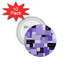 Purple Pain Modular 1 75  Button (10 Pack) by FunWithFibro