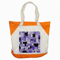 Purple Pain Modular Accent Tote Bag