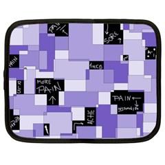 Purple Pain Modular Netbook Sleeve (xl)