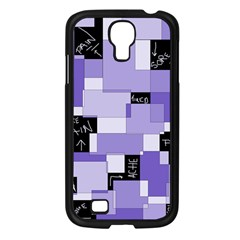 Purple Pain Modular Samsung Galaxy S4 I9500/ I9505 Case (black) by FunWithFibro