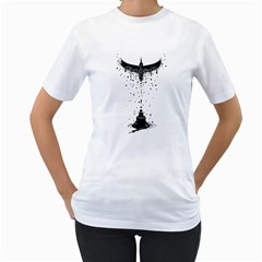 Correspondence Women s T-Shirt (White)  by Contest1891613