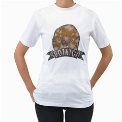 IT S POTATO ERMAHGERD!! Women s T-Shirt (White)  by Contest1861806