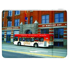 Double Decker Bus   Ave Hurley   Samsung Galaxy Tab 7  P1000 Flip Case