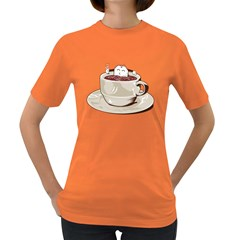 Tea Time Women s T-shirt (Colored) by Contest1753604