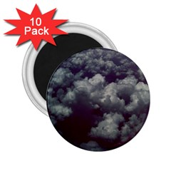 Through The Evening Clouds 2.25  Button Magnet (10 pack) by ArtRave2
