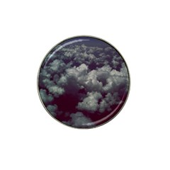 Through The Evening Clouds Golf Ball Marker (for Hat Clip)