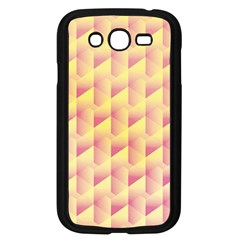 Geometric Pink & Yellow  Samsung Galaxy Grand Duos I9082 Case (black) by Zandiepants