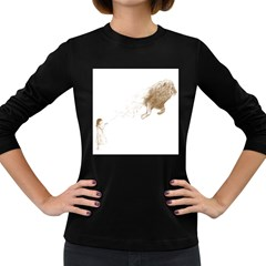 Sandy The Lion Women s Long Sleeve T Shirt (dark Colored) by Contest1883496