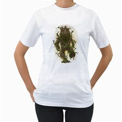 Treebear Women s T-Shirt (White)  by Contest1836099