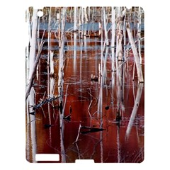 Automn Swamp Apple Ipad 3/4 Hardshell Case by cgar