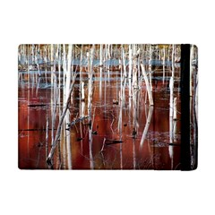Automn Swamp Apple Ipad Mini Flip Case by cgar