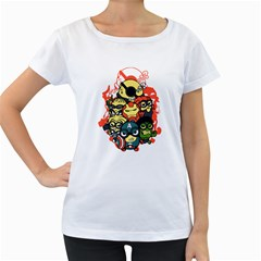 Despicable Avengers Women s Loose-Fit T-Shirt (White) by Contest1736614