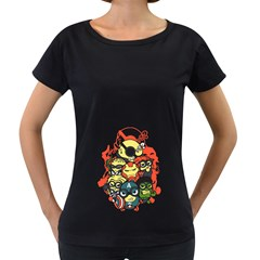 Despicable Avengers Women s Loose-Fit T-Shirt (Black) by Contest1736614