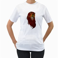 Evolving Fairy Tales Women s T-Shirt (White)  by Contest1907917