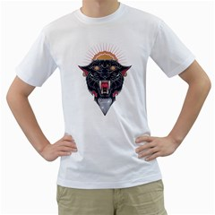 Flash Panther Men s T-Shirt (White)  by Contest1907917