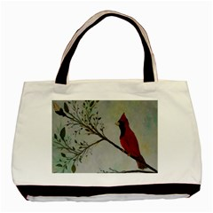 Sweet Red Cardinal Classic Tote Bag by rokinronda