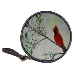 Sweet Red Cardinal Cd Wallet by rokinronda