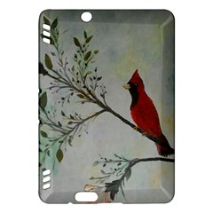 Sweet Red Cardinal Kindle Fire Hdx 7  Hardshell Case by rokinronda