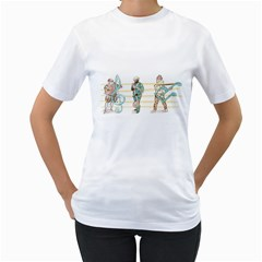 Let s Play Music Women s T-Shirt (White)  by Contest1916254