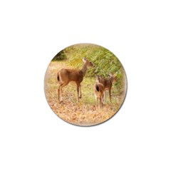 Deer In Nature Golf Ball Marker 4 Pack by uniquedesignsbycassie