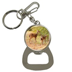 Deer In Nature Bottle Opener Key Chain by uniquedesignsbycassie