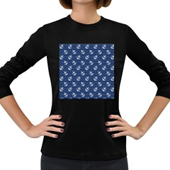 Boat Anchors Women s Long Sleeve T Shirt (dark Colored) by StuffOrSomething