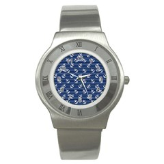 Boat Anchors Stainless Steel Watch (slim) by StuffOrSomething
