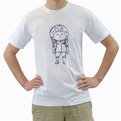 When I Go To Mars Men s T Shirt (white)  by Contest1918937