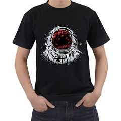 Trouble In the Space Men s T-shirt (Black) by Contest1753604
