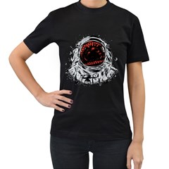 Trouble In the Space Women s T-shirt (Black) by Contest1753604