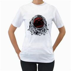 Trouble In the Space Women s T-Shirt (White)  by Contest1753604