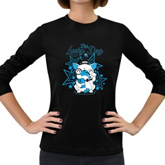 The Lucky Dog Women s Long Sleeve T Shirt (dark Colored) by Contest1771648