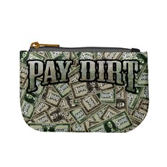 Pay Dirt   Money Tile Bag By Rainer Ahlfors   Mini Coin Purse   Y0hpbhegdv5m   Www Artscow Com Front