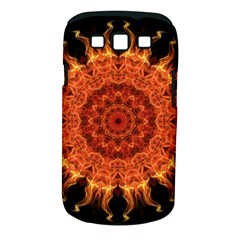 Flaming Sun Samsung Galaxy S Iii Classic Hardshell Case (pc+silicone) by Zandiepants