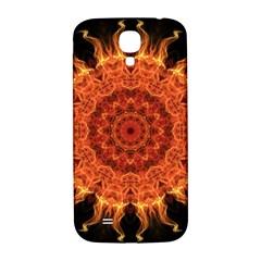 Flaming Sun Samsung Galaxy S4 I9500/i9505  Hardshell Back Case by Zandiepants