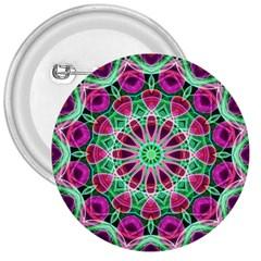 Flower Garden 3  Button by Zandiepants
