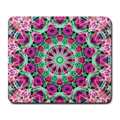 Flower Garden Large Mouse Pad (rectangle) by Zandiepants