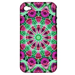 Flower Garden Apple Iphone 4/4s Hardshell Case (pc+silicone) by Zandiepants