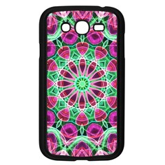 Flower Garden Samsung Galaxy Grand Duos I9082 Case (black) by Zandiepants