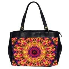 Gemstone Dream Oversize Office Handbag (two Sides) by Zandiepants