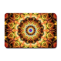 Ochre Burnt Glass Small Door Mat by Zandiepants