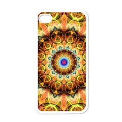 Ochre Burnt Glass Apple Iphone 4 Case (white) by Zandiepants