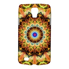 Ochre Burnt Glass Samsung Galaxy S4 Active (i9295) Hardshell Case by Zandiepants