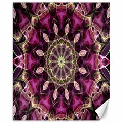 Purple Flower Canvas 16  X 20  (unframed)
