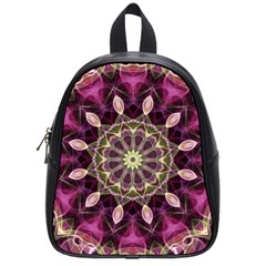 Purple Flower School Bag (small) by Zandiepants