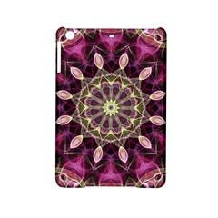 Purple Flower Apple Ipad Mini 2 Hardshell Case by Zandiepants