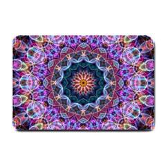 Purple Lotus Small Door Mat by Zandiepants