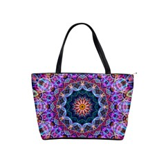 Purple Lotus Large Shoulder Bag by Zandiepants